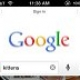 Une nouvelle version 2.0 de Google Search pour iOS